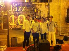 After a very nice festival in South of France with Francois Aranaud, Romain Dravet and Nicholas Luchi