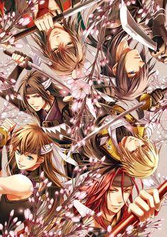 Hakuouki Shinsengumi Kitan (Demon Of The Fleeting Blossom) - Zerochan Anime Image Board Hot Anime Boy, Anime Love, Anime Guys, Manga Art, Anime Art, Tous Les Anime, The Garden Of Words, Otaku, Image Manga