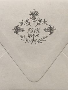 Lily Monogram Custom Stamp
