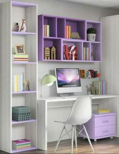 √ Most Popular Study Table Designs and Children's Chairs Today Study Desk Design In The Bedroom Home Room Design, Home Office Design, Home Office Decor, Office Designs, Office Ideas, Study Room Design, Office Table, Office Chic, Study Room Decor