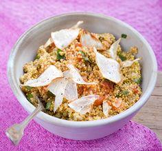 Hirsotto mit Selleriechips | Blog Köstlich Vegetarisch