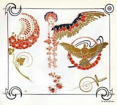Ornamente Jugendstil