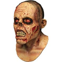 Zombie Lurker Latex Mask Adult Halloween Accessory