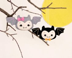 Halloween decoraciones Bat juguetes fieltro Set de regalo de