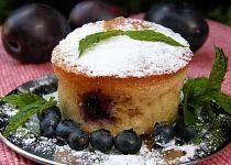 Ovocné muffinky s ořechy