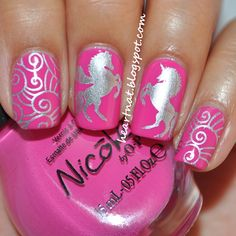 Nicole by OPI Pink Seriously & Nailz Craze NC 02