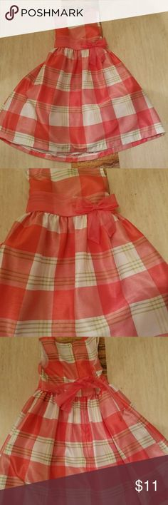 Girls size 6x dress multi color pink plaid easter Girls size 6x dress multi color pink plaid easter or any occasion formal wear Dresses