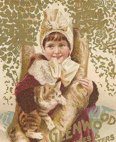 Victorian Trade Card Glenwood Ranges & Heaters by TheOldBarnDoor