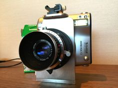Camera Geekery: Hacked Instax Mini - A modded Instax mini that is able to run 4x5 lenses? Yes please!