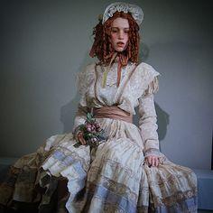 Юлия. 75 см. Одежда от Ирины Куземиной. #art #bjd #craftdoll #collectiondolls #doll #dollmaker #MichaelZajkov #ooak #vintage #шарнирнаякукла #ручнаяработа #винтаж