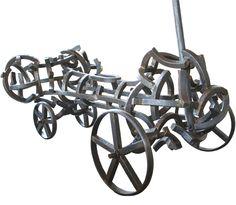 Robert Slingsby Folk, Old Antiques, Cannon, Wheels, Guns, Chandelier, Ceiling Lights, Artists, Sculpture