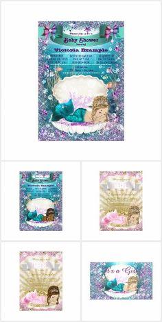 65 best mermaid baby shower invitations ideas images on pinterest in adorable mermaid baby shower filmwisefo