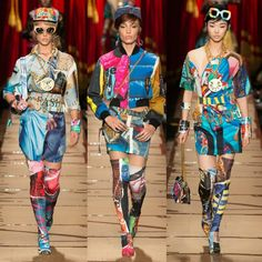 MOSCHINO FALL READY TO WEAR 2017 COLLECTION. | FitnessandFashionandHealth
