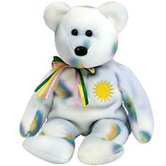 TY Beanie Baby - CHEERY the Sunshine Bear (8.5 inch)