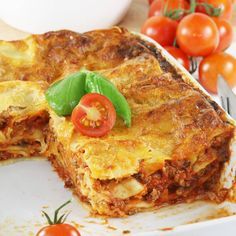 Lazania | AniaGotuje.pl Traditional Lasagna, Lasagna Soup, Lasagna Rolls, Aga, Quiche, Food And Drink, Pizza, Cooking Recipes, Dinner