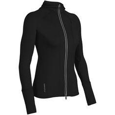 9eb3b121127 Icebreaker Quantum GT260 Hoodie Sweatshirt - UPF 50 , Merino Wool, Full Zip  (For