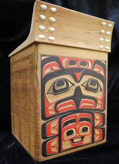 """The MOA Shop: """"Bentwood Box"""" by Richard Sumner."""