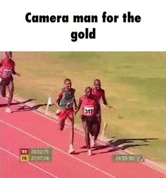 Camera Man For The Gold