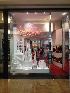 Shopfront @ Christian Louboutin:Mall of the Emirates:Dubai:UAE Photo by #AlexBing101