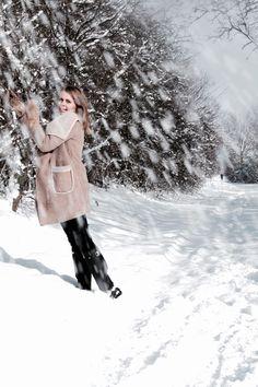 Winter ist wunderschön - Look in the day That Look, Snow, Coat, Winter, Jackets, Fashion, Winter Time, Down Jackets, Moda