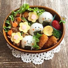 Cute Bento Boxes, Bento Box Lunch, Bento Kids, Bento Recipes, Cute Food, Creative Food, Japanese Food, Asian Recipes, Food Porn