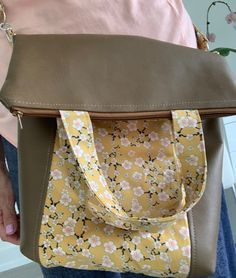 Vinyl with cotton material combo gives this bag a special charm. Can be folded down as a cross body bag Satchel, Crossbody Bag, Cross Body, Messenger Bag, Backpacks, Sewing, Cotton, Bags, Handbags