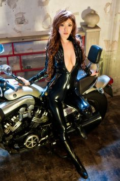 hot asian girls on motorcycles