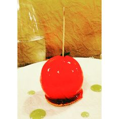 Pomme d'amour revisité par Le chef Philippe Etchebest