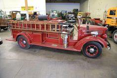 Farewell Old Friend: 1942 Mack Fire Truck Volunteer Firefighter, Firefighters, Cool Fire, Fire Equipment, Rescue Vehicles, Mack Trucks, Fire Apparatus, Emergency Vehicles, Fire Dept