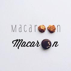 Macaroon vs Macaron // via brigadeirochoc