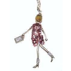 Doll Pendant Necklace - TALLULAH