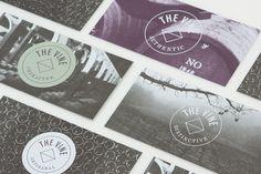 The Vine by Blok Design , via Behance branding + print + business card + identity Web Design, Vine Design, Layout Design, Logo Design, Identity Design, Visual Identity, Brand Identity, Logo Branding, Corporate Design