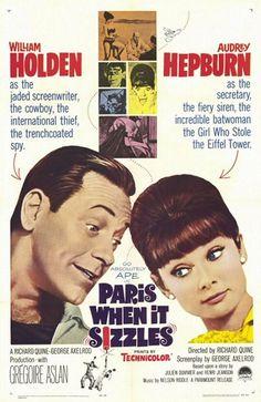 Paris When It Sizzles (1964) - A Classic Audrey Hepburn movie