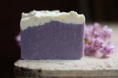 Lilac Handmade Soap - Cold Process Soap