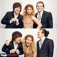 Stars Get Snapped in the People's Choice Awards Photo Booth | THE BAND PERRY | Don't these three ever get sick of each other? The sibling stuff doesn't seem to get old for The Band Perry's Neil, Kimberly and Reid, who goof off backstage in the People's Choice Awards photo booth.