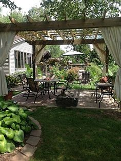 Such a cool and restful garden spot!
