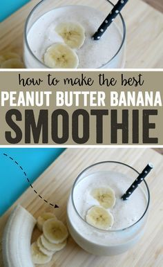 How to make the BEST Peanut Butter Banana Smoothie! AD #MySmoothie #CollectiveBias