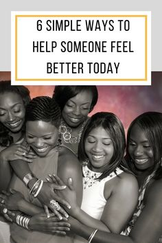 Help someone feel better by being more alert and aware to another person's needs. They just might be waiting to hear something positive. via @abusybeeslife