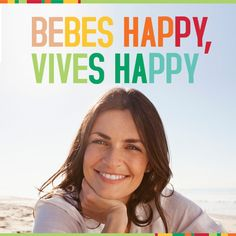 BEBE HAPPY, VIVE HAPPY DRINK6 by Nutrimedic Zumos detox