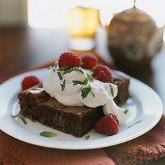 Get the best dark chocolate recipes from trusted magazines, cookbooks, and more. You'll find recipe ideas complete with cooking tips, member reviews, and ratings.