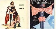 The super-kinky illustrations of the mysterious French fetish artist known only as 'Carlo'