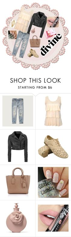 """Bez naslova #11"" by ahmetovic-mirzeta ❤ liked on Polyvore featuring Abercrombie & Fitch, Glamorous, Michael Kors, Fiebiger, women's clothing, women, female, woman, misses and juniors"