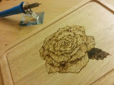 Wood Burning design - Wood Work
