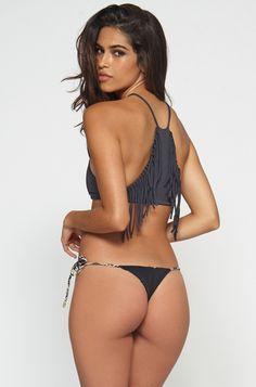 INDAH Collins Bikini Bottom in Black || http://ss1.us/a/D6CygGv2