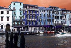 Venice Buildings Pop Art Photograph Venice, Pop Art, Buildings, Photograph, Art Prints, Photography, Art Impressions, Venice Italy, Photographs