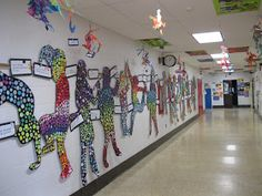 The Art Room at The Falcon Academy of Creative Arts: 6th grade art