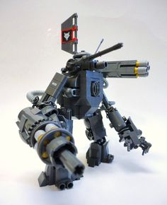 https://flic.kr/p/abhGks | Jumo Industries MK2 GOLIATH | A Wolfpack clankbot