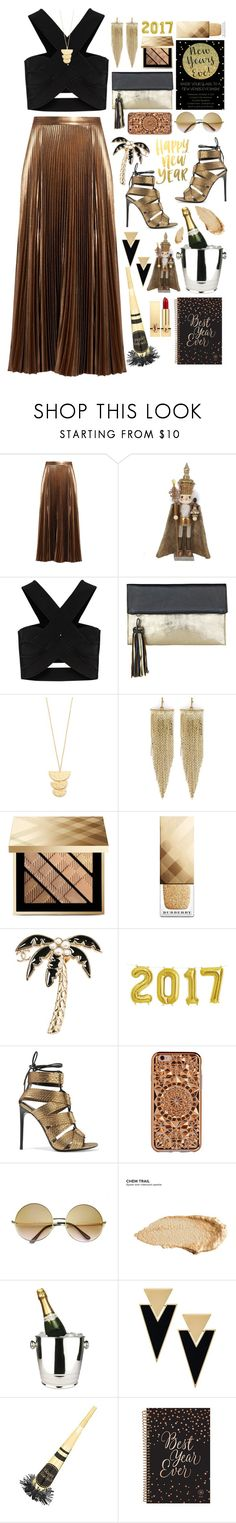 """Sail the Night Away"" by summervintage ❤ liked on Polyvore featuring A.L.C., Kurt Adler, Issa, BeckSöndergaard, Gorjana, Kenneth Jay Lane, Burberry, Chanel, Tom Ford and Felony Case"