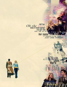 Doctor Who - The Tenth Doctor and Rose Tyler