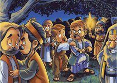 SGBlogosfera. Amigos de Jesús: PREPARAMOS LA SEMANA SANTA Bible Cartoon, Jesus Cartoon, Cartoon Images, Bible Stories For Kids, Jesus Stories, Bible Lessons For Kids, Jesus Crafts, Bible Crafts, Bible Art